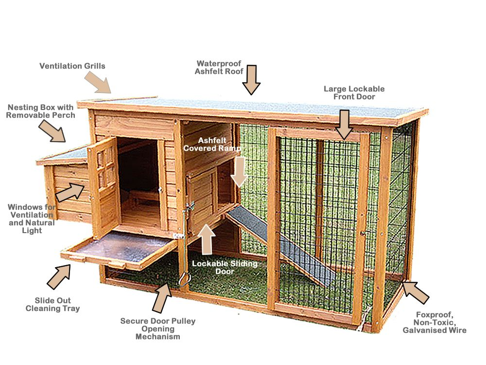 The norfolk coop for Plans for chicken coops